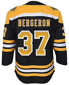 Authentic NHL Apparel Patrice Bergeron Boston Bruins Premier Player Jersey, Big Boys (8-20)