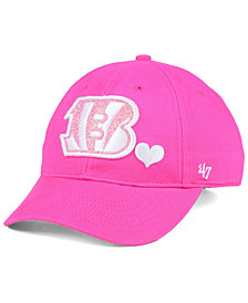 '47 Brand Girls' Cincinnati Bengals Sugar Sweet MVP Cap