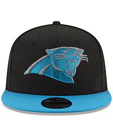 New Era Carolina Panthers Heather Pop 9FIFTY Snapback Cap