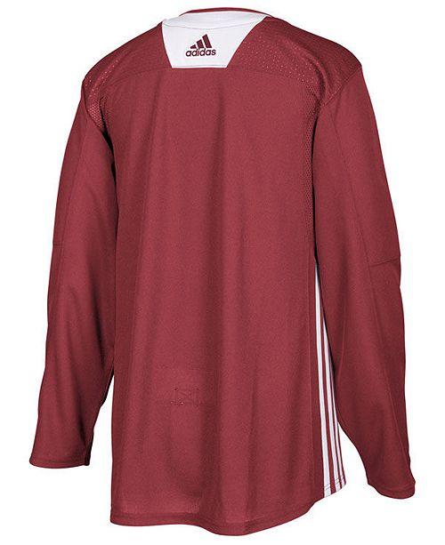 finest selection 5eace 3b59c ... spain adidas mens arizona coyotes authentic pro practice jersey sports  d9089 d1c33