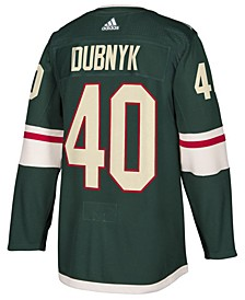 Devan Dubnyk Men's Minnesota Wild Authentic Player Jersey