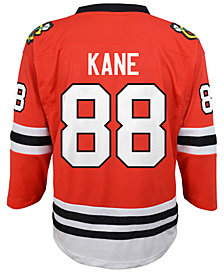 Authentic NHL Apparel Patrick Kane Chicago Blackhawks Player Replica Jersey, Big Boys (8-20)