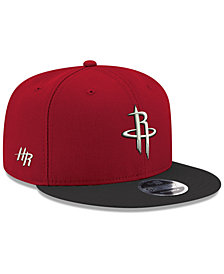 New Era Houston Rockets Basic Link 9FIFTY Snapback Cap