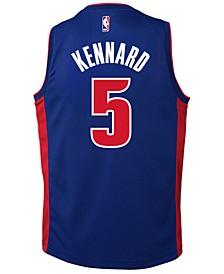 Luke Kennard Detroit Pistons Icon Swingman Jersey, Big Boys (8-20)