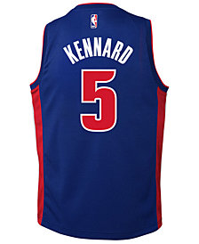 Nike Luke Kennard Detroit Pistons Icon Swingman Jersey, Big Boys (8-20)