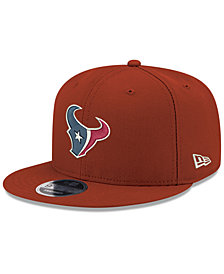 New Era Houston Texans Team Color Basic 9FIFTY Snapback Cap