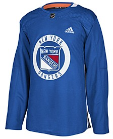Men's New York Rangers Authentic Pro Practice Jersey