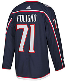 adidas Men's Nick Foligno Columbus Blue Jackets Authentic Player Jersey
