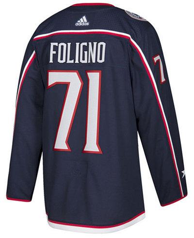 adidas Men's Nick Foligno Columbus Blue Jackets Authentic Player Jersey