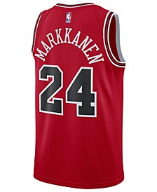 Men's Lauri Markkanen Chicago Bulls Icon Swingman Jersey