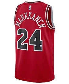 Nike Men's Lauri Markkanen Chicago Bulls Icon Swingman Jersey