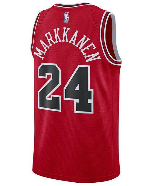 317077426 ... Nike Men s Lauri Markkanen Chicago Bulls Icon Swingman Jersey ...