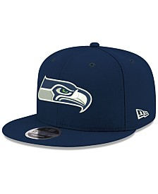 New Era Seattle Seahawks Team Color Basic 9FIFTY Snapback Cap