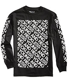 Young & Reckless Men's Long-Sleeve T-Shirt