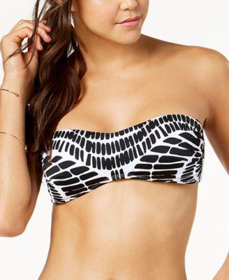 Kalediscope Printed Bandeau Bikini Top, Created for Macy's