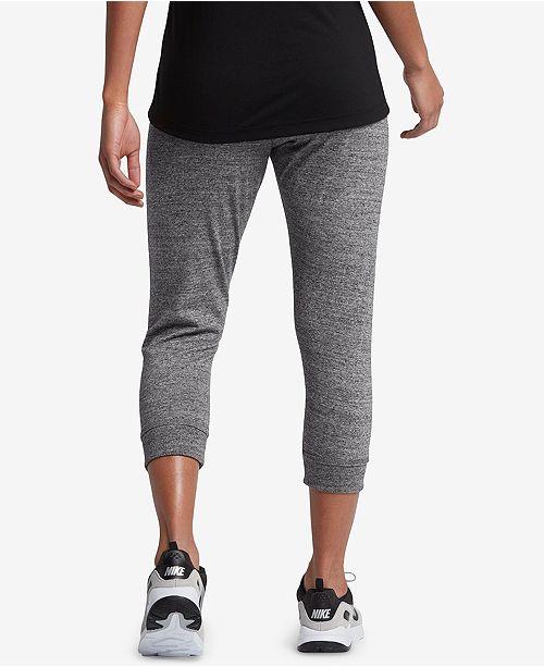 Nike Gym Vintage Capri Pants - Pants   Capris - Women - Macy s f70540458e8