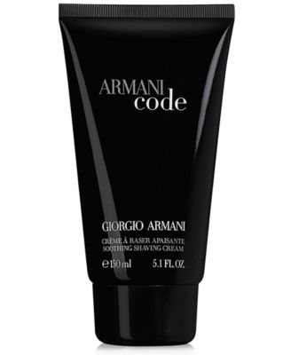 Armani Code for Men Shaving Cream, 5.1 oz