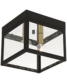 Livex Nyack 2-Light Flush Mount