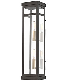 Livex Hopewell 2-Light Outdoor Wall Lantern