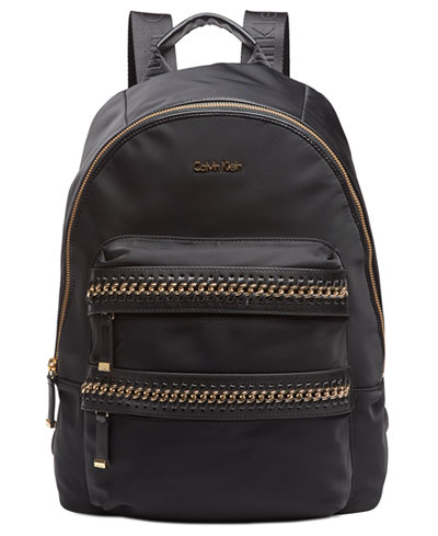 Calvin Klein Florence Large Chain Backpack