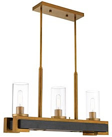 Buttonwood 5-Light Linear Chandelier