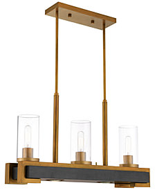 Livex Buttonwood 5-Light Linear Chandelier
