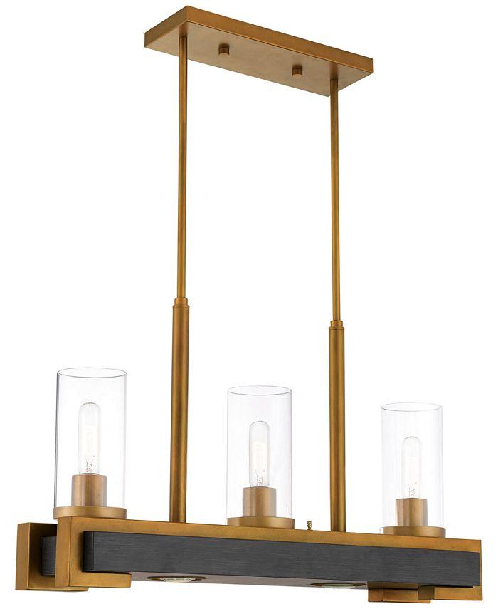 Livex - Buttonwood 5-Light Linear Chandelier