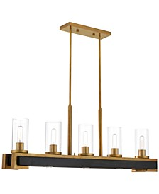 Buttonwood 8-Light Linear Chandelier