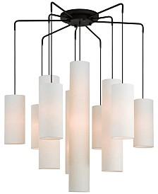 Livex Strathmore 10-Light Chandelier
