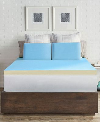 Sealy Cool Flip Memory Foam Mattress Toppers Mattress Pads