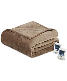 Beautyrest Heated Plush Full Blanket