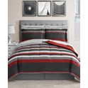 8-Piece Fairfield Square Collection Austin Reversible Bedding Sets