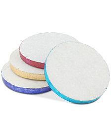 Thirstystone 4-Pc. Jewel-Tone-Edge Marble Coaster Set