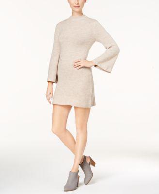 Oatmeal colored sweater dress