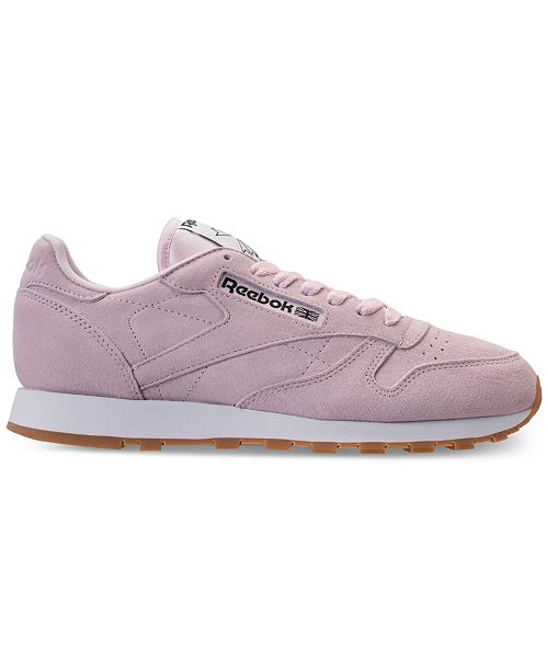 8936ca4d8a36f ... Reebok Men s Classic Leather Pastels Casual Sneakers from Finish ...
