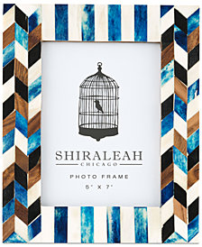 Shiraleah Boheme Geometric Inlay 5'' x 7'' Picture Frame
