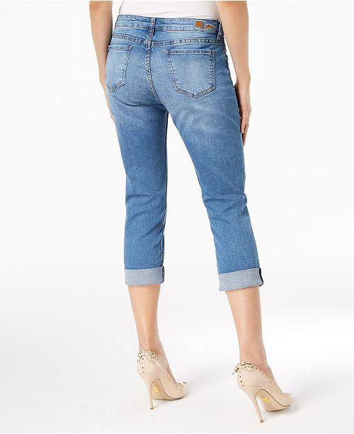2ca1497c Kut from the Kloth Petite Katy Boyfriend Crop Jeans & Reviews ...