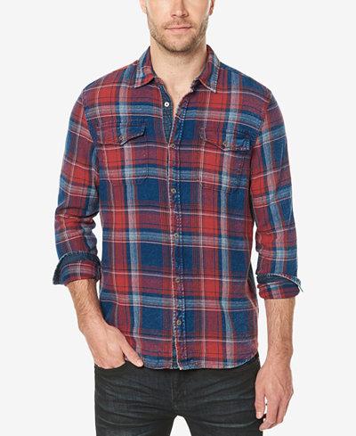 Buffalo David Bitton Men's Plaid Shirt