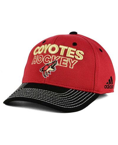 adidas Arizona Coyotes Locker Room Structured Flex Cap
