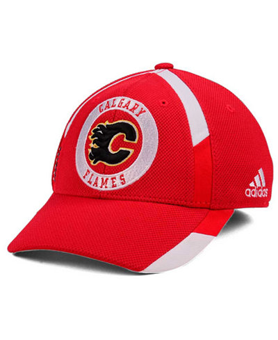 adidas Calgary Flames Practice Jersey Hook Cap