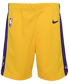Los Angeles Lakers Icon Replica Shorts, Toddler Boys