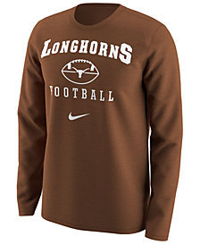 Nike Men's Texas Longhorns Retro Long Sleeve T-Shirt