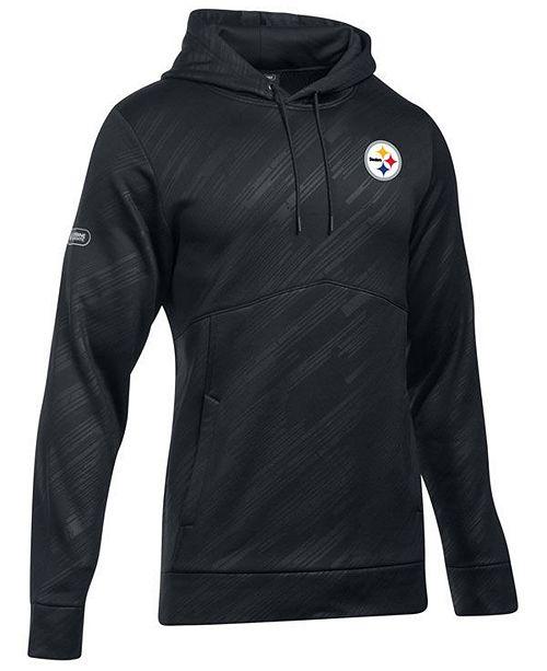 c9228d803 Under Armour Men s Pittsburgh Steelers Armour Fleece Hoodie - Sports ...