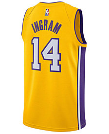 Nike Men's Brandon Ingram Los Angeles Lakers Icon Swingman Jersey