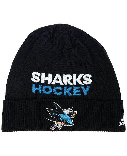 adidas San Jose Sharks Player Knit