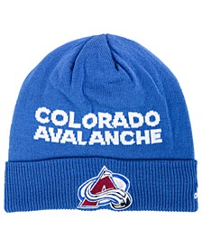 Colorado Avalanche Player Knit