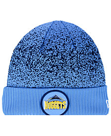 New Era Denver Nuggets On Court Collection Cuff Knit Hat