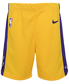 Nike Los Angeles Lakers Icon Replica Shorts, Little Boys (4-7)