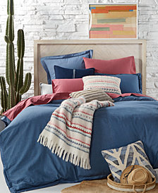 Tommy Hilfiger Blues Sunkissed Denim Bedding Collection