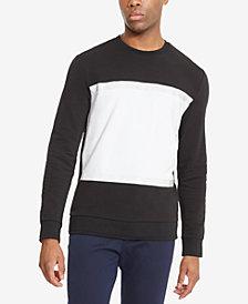 Kenneth Cole Reaction Men's Pieced Colorblocked Sweatshirt